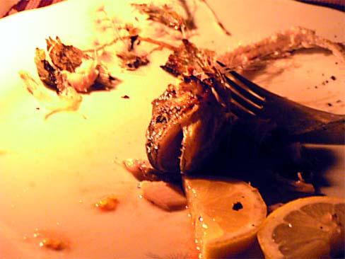 мъртва рибка