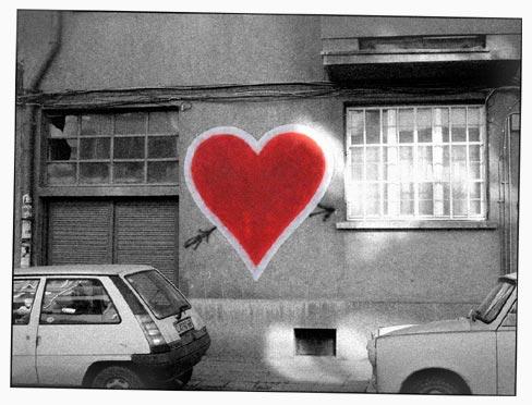 grafitti valentine